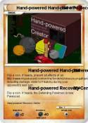 Hand-powered
