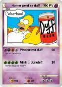 Homer perd sa