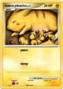 mama pikachu