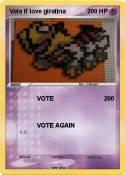 Vote if love