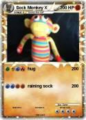 Sock Monkey X