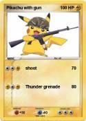 Pikachu with