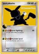 ipod pikachu