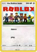 the Roblox team