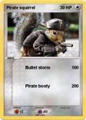 Pirate squirrel