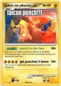 punch me pikach
