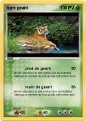 tigre geant