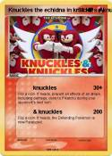 Knuckles the