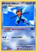 ash green ninja