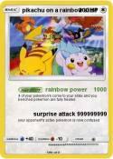 pikachu on a