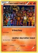 new teaser fnaf