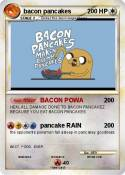 bacon pancakes