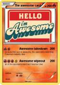 The awesome