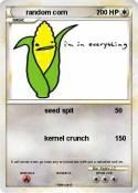 random corn