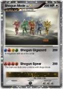 Shogun Mode