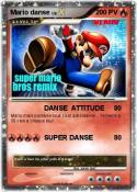 Mario danse