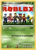 Team roblox