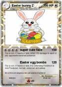 Easter bunny Z