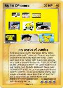 My 1st DP comic