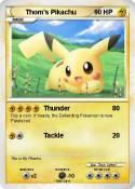 Thom's Pikachu