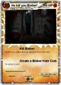 He kill you