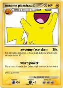awsome picachu