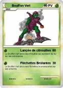 Bouffon Vert