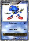 Sonic robot