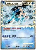 water arceus