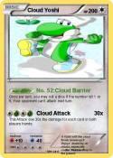 Cloud Yoshi