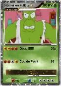 Homer en Hulk