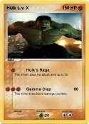 Hulk L.v. X