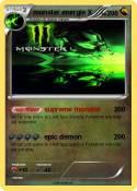 monster energie