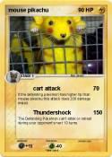 mouse pikachu