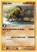 rhino man 555