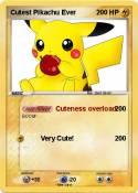 Cutest Pikachu