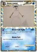 Snow mansi