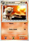 Cat with AK47