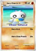 Hero Chao Lv. X