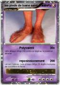 les pieds de