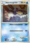 Primo Kiogre EX