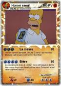 Homer saoul