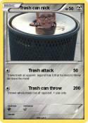 Trash can nick