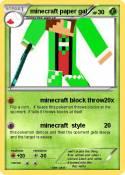 minecraft paper