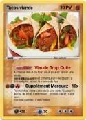 Tacos viande