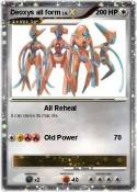 Deoxys all form