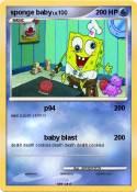 sponge baby