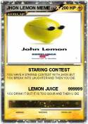 JHON LEMON MEME