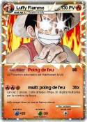 Luffy Flamme