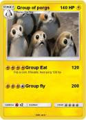 Group of porgs